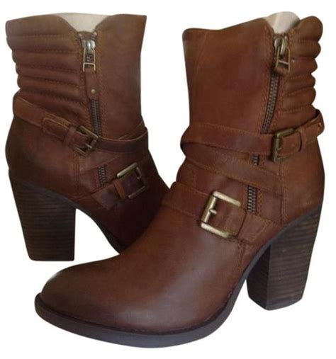 Steve Madden Shoes Size 4 by Steve Madden Cognac Raleigh Boots Booties Size Us 10 Tradesy