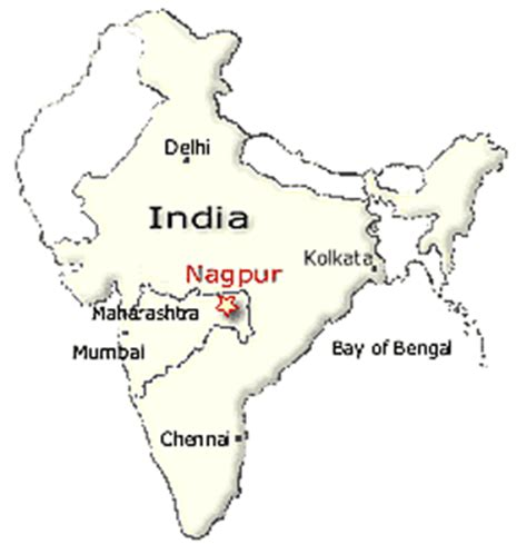 nagpur in map of india ecumenical sangam nagpur a society for community health