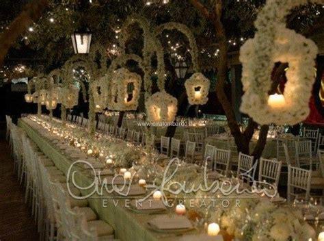 candele giganti matrimonio da sogno al lanterne floreali