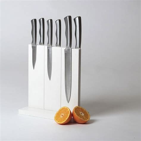 cool knife block magnetic knife block cool stuff pinterest