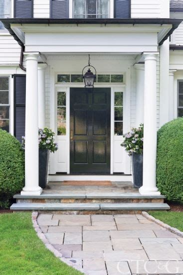the house entrance door steps indian style tour a greenwich home designed with kid friendly touches colonial exterior