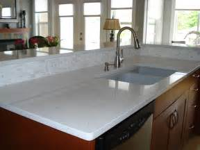 Kitchen Quartz Countertops Gorgeous White Quartz Countertops Make A Statement In This Okanagan Kitchen Madeira