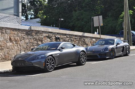 Aston Martin Connecticut by Aston Martin Db11 Spotted In Greenwich Connecticut On 06
