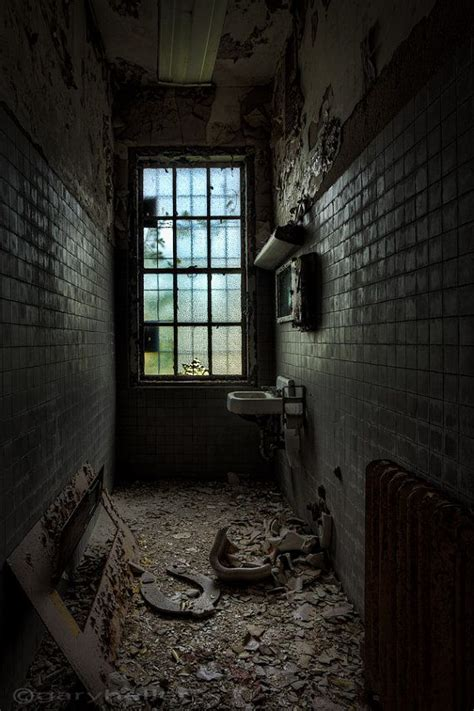 mysterious abandoned places narrow lavoratory abandoned asylum exploration mysterious places