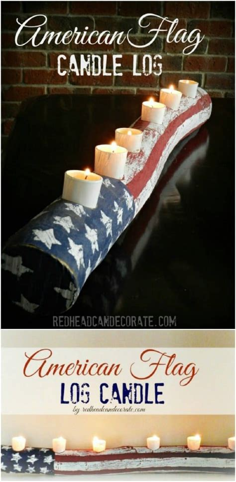 diy rustic wooden fourth  july decor ideas style motivation