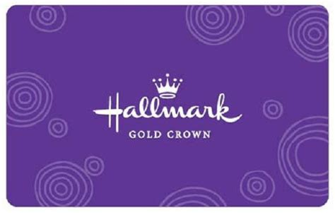 Crown Gift Cards - 100 hallmark gold crown gift card whole mom