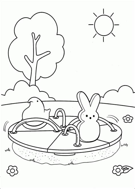 Marshmallow Peeps Coloring Pages Coloringpagesabc Com Peep Coloring Pages