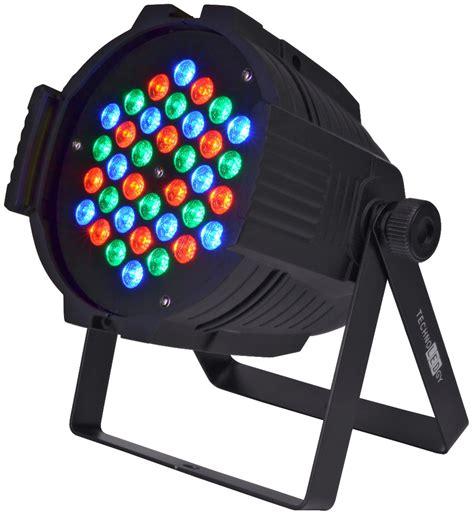 technoledgy pro par 36 watt 3x1w dmx rgb led light pssl