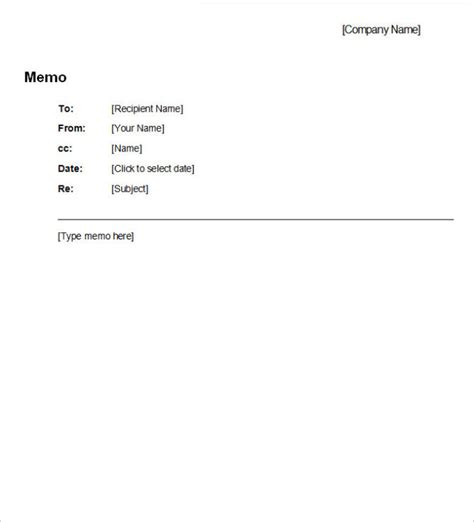 Memo Document Template Word Free Professional Business Memo Template Calendar