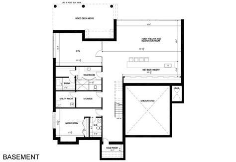 Toronto Kitchen Design basement floor plan contemporary house in toronto canada
