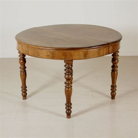 tavolo tondo tavolo tondo allungabile tavoli antiquariato