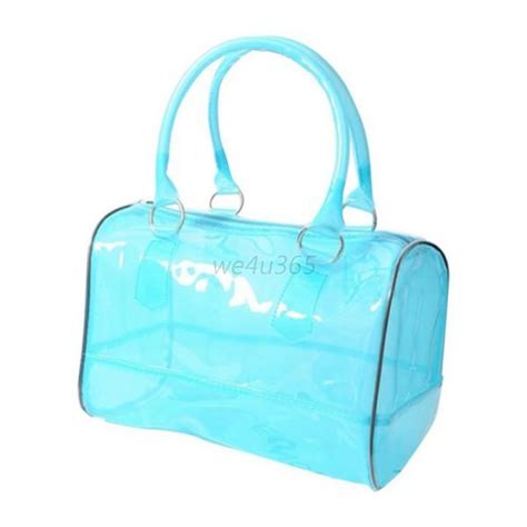 Jelly Clear Buy 1 Get 1 jelly clear shoulder bag pvc 2in1