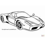 Coloriage  Ferrari Enzo Coloriages &224 Imprimer Gratuits