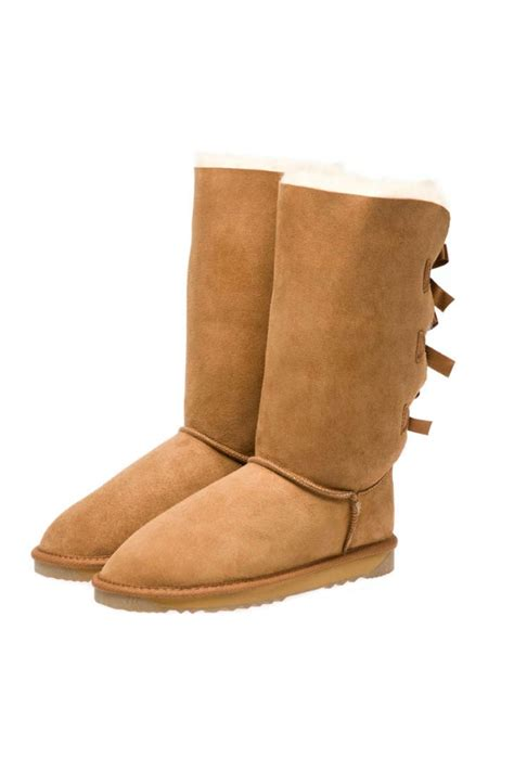 ugg boots bows on back 3 back bows feel warm cosy for because of its