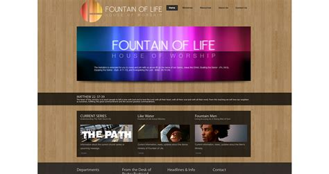 fountain of life house of worship langart design concepts