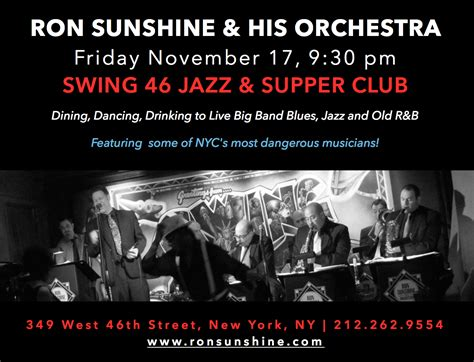 swing 46 nyc upcoming events orchestra at swing 46 nyc