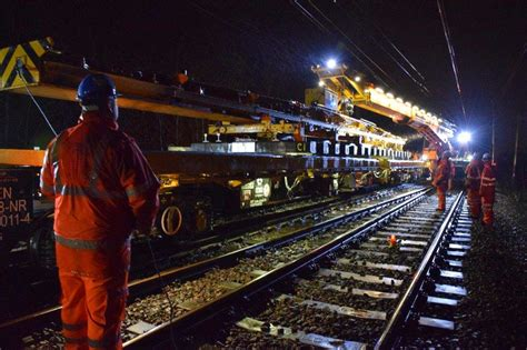 design engineer network rail major crossrail works successfully delivered by network