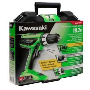Kawasaki 19 2v Battery Charger by Kawasaki 1 2 Quot 19 2v Cordless Drill W 2 Batteries Tools