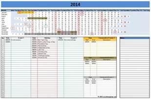 2017 Microsoft Office Calendar » Calendar Template 2017