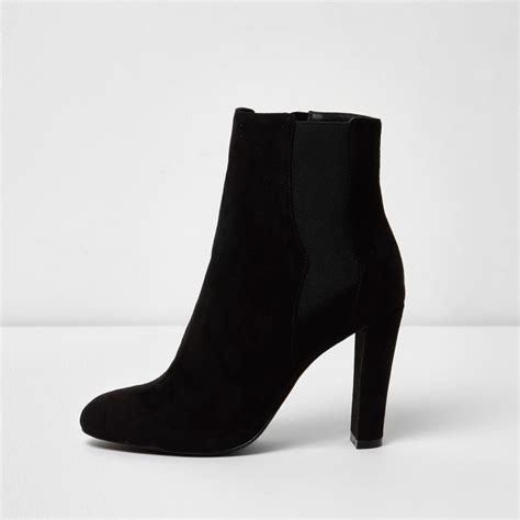 black heeled chelsea boots boots shoes boots
