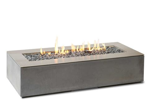 linear outdoor fire pit robata natural gas or propane