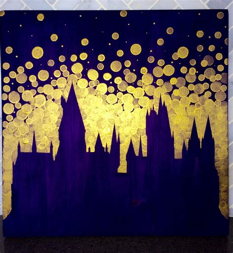 harry potter painting hogwarts castle painting harry potter castle harry potter