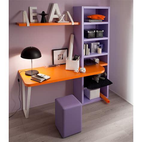 scrivania per ragazzi cameretta due letti violetta
