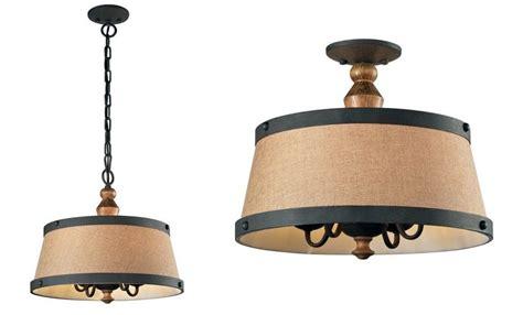 elk lighting early american 4 light ceiling light pendant