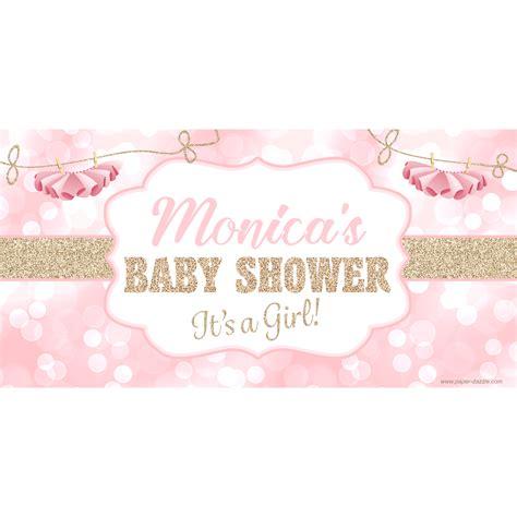 Baby Shower Banner by Tutu Sparkle Baby Shower Banner