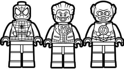 Lego Marvel Coloring Pages by Lego Coloring Pages Best Coloring Pages For