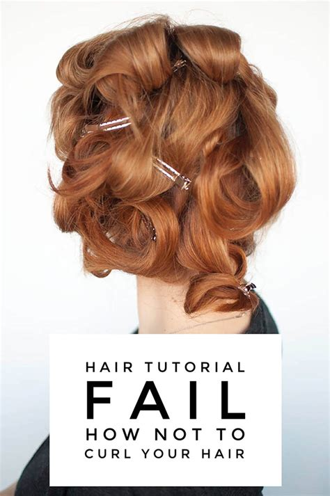 easy perm for hair to be fixed how not to curl your hair hair tutorial fail hair romance