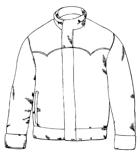 free coloring pages of jacket
