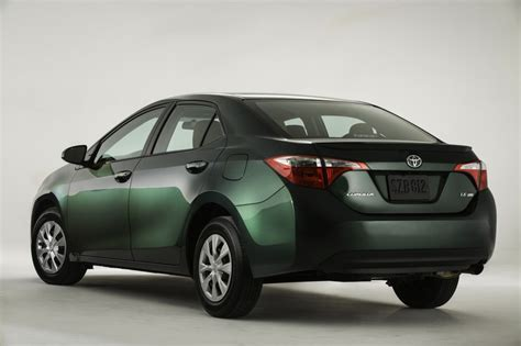 Toyota Corolla Mpg 2014 New 2014 Toyota Corolla Unveiled Eco Model Aims At 40 Mpg