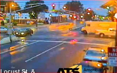 video: roselle park, nj, red light cameras capture
