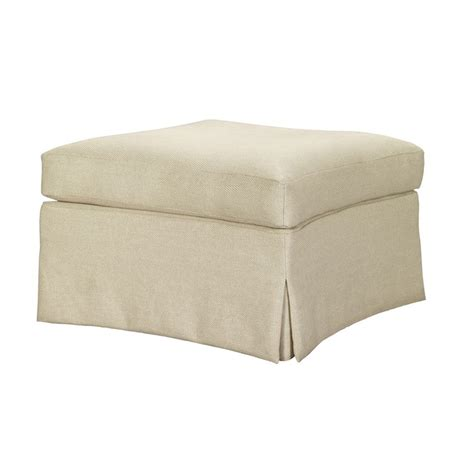 skirted ottoman hickory chair 1530 29 suzanne kasler virginia skirted