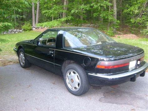 find used 1991 buick reatta black tan coupe in acton massachusetts united states purchase used 1991 buick reatta in salem new hshire united states