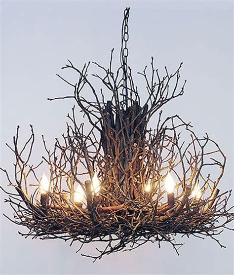Office Chandelier Appalachian Branchelier Twig Chandelier Rustic Artistry