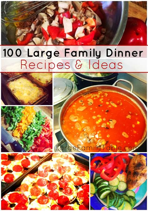 dinner ideas free large images 100 large family dinner recipes ideas large family table