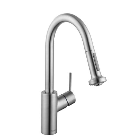 hansgrohe talis s2 single lever kitchen faucet tap kraus nola single handle commercial style kitchen faucet
