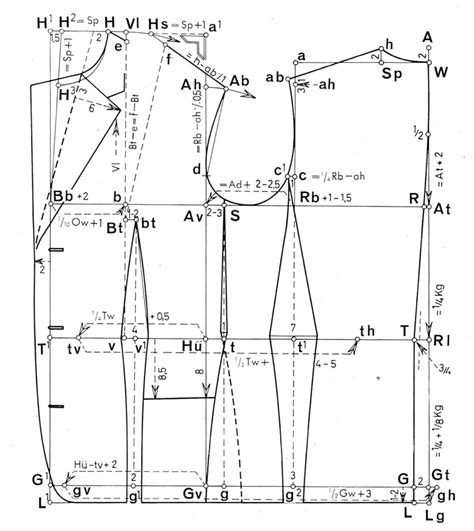 pattern making menswear pdf cutter and tailor measured and drafting of several basic
