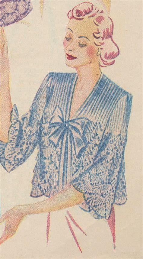 free knitting pattern bed jacket 50 best images about vintage bed jacket on