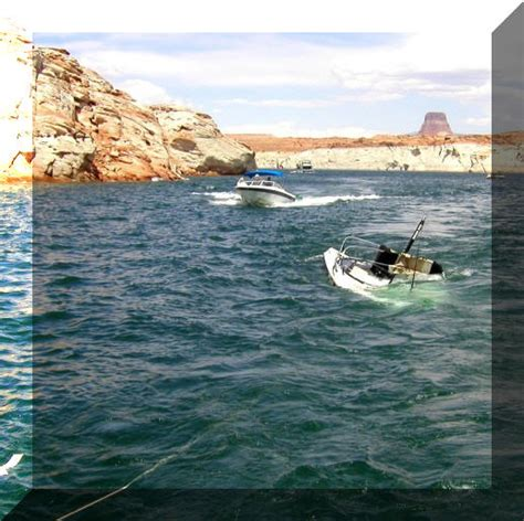 sinking wake boat tige in 2004 sunk in narrows