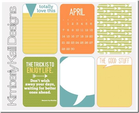 250 Free Project Journaling And Filler Cards Fab