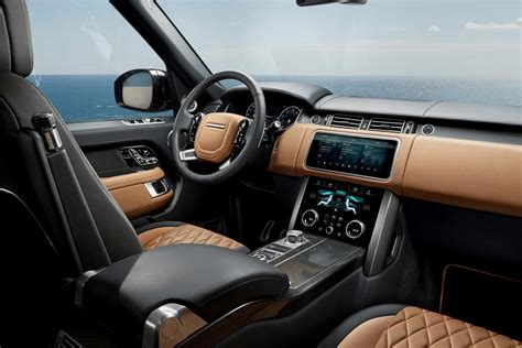 land rover autobiography interior 2018 range rover unveiled with p400e in hybrid