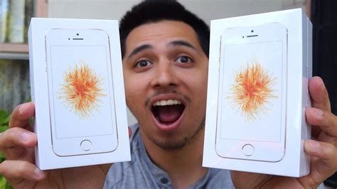 Iphone Se Giveaway - iphone se gold unboxing giveaway youtube