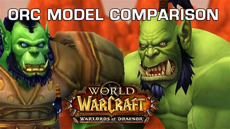 Wow Detox Kiev by Orc Model Comparison World Of Warcraft Warlords Of