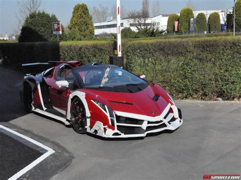 New Lamborghini Veneno Roadster Spotted Lamborghini Veneno Roadster Outside Factory