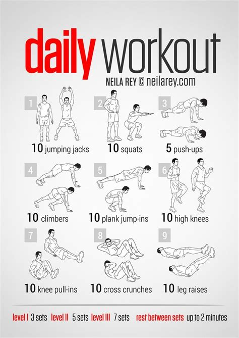 25 best ideas about easy daily workouts on