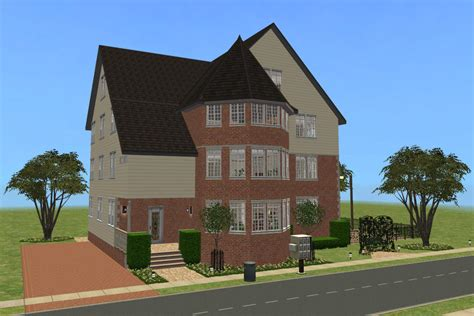 Colonial Appartments by Mod The Sims Colonial Apartment House