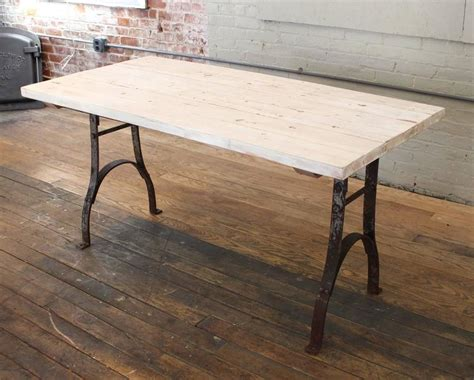 distressed farmhouse dining table classic and modern vintage reclaimed table distressed plank top wood steel